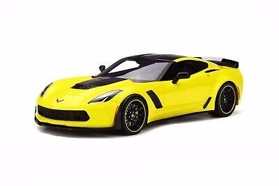 GT Spirit 1/18 Chevrolet Corvette Z06 C7-R Edition 2016 Yellow GT171 for sale  Surrey
