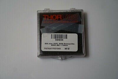 Thorlabs - Bsw26 - 1 5050 Uvfs Plate Beamsplitter Coating 350 - 1100 Nm