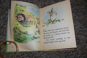 Vintage Junior Elf Book HOPPITY 1967 By Marjorie Barrows ILS Susan Mills CUTE!