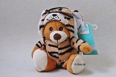 Kik Bär Tigerkostüm NEU Stofftier Kuscheltier Schmusetier Plüschtier KIKI - Kuschel Bär Kostüm