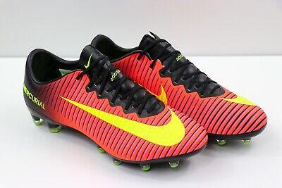 6b997289f6cbf Nike Mercurial Vapor XI ACC AG-Pro Crimson Red Soccer Cleats 831957-871  Size 7.5