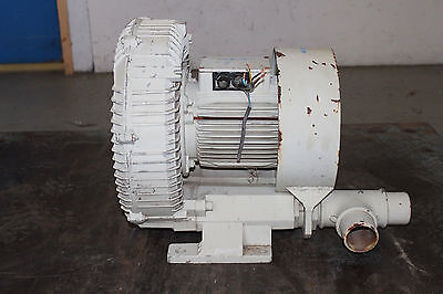 Regenerative Blower Moh P Sk602 240 Volt 3-phase 15 Fan 2 In And Out