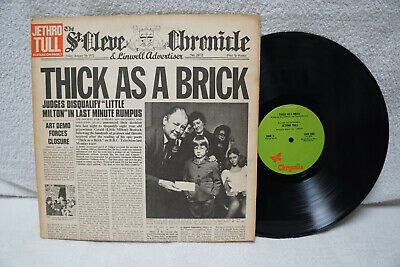 JETHRO TULL THICK AS A BRICK 1972 CHRYSALIS CHR 1003 USA comprar usado  Enviando para Brazil