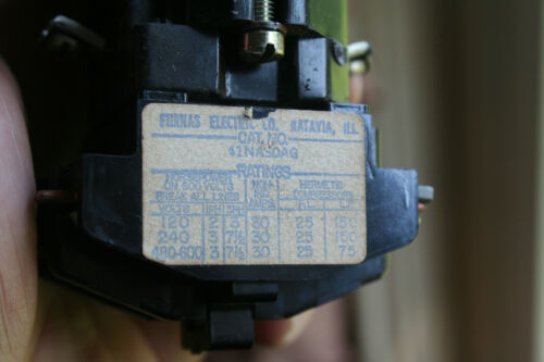 Used Furnas 41NA30AG Definite Purpose Magnetic Contactor Relay See Pix!!