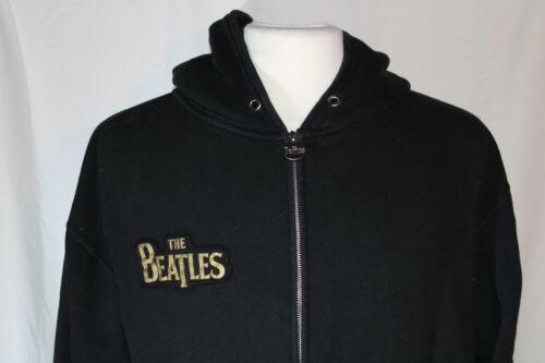 Vintage Style The Beatles Sgt. Peppers Full Zip Hoodie Sweatshirt Size M Rare