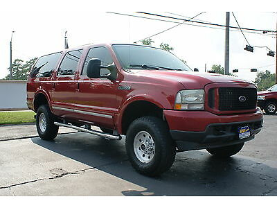 Sell Used 4x4 Lifted Excursion 6 0 Turbo Diesel Leather Navigation