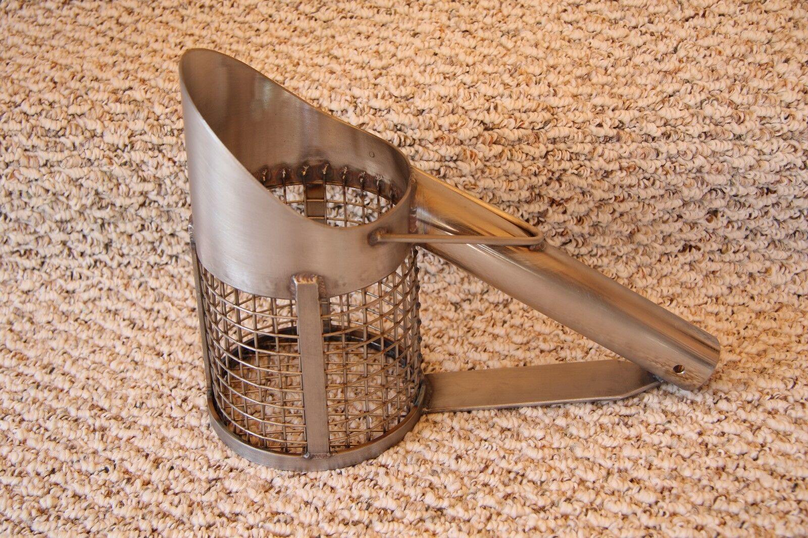 Wood handle Stainless Steel  Sand Scoop