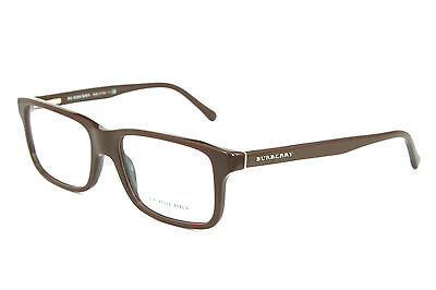 Burberry Herren Damen Brillenfassung B2165 3404 53mm braun vollrand S 36B 15