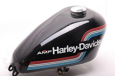DECALS for 1975 AMF Harley-Davidson Ironhead Sportster Peanut Gas Tank XLCH XLH