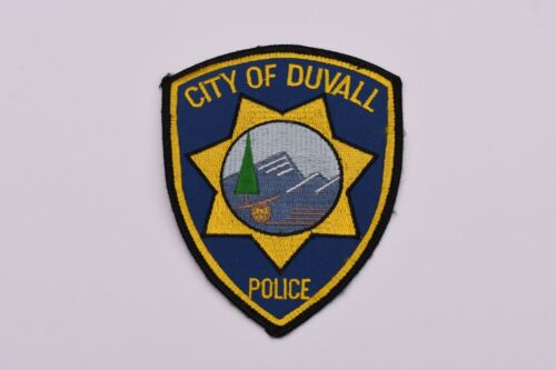 Duvall Washington Collectible Police Patch