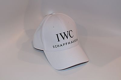 IWC Watch Baseball Cap Hat White - New - Rare