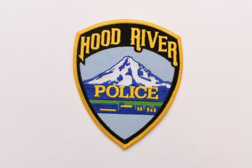 Hood River Oregon Collectible Shoulder Police Patch