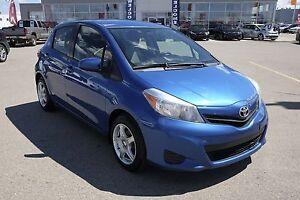 2012 Toyota Yaris LE Fuel Efficient, A/C, Power options, Hatc...