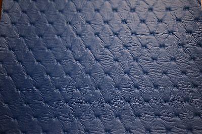 Pacific Blue Diamond Embossed Auto Pro Vinyl Fabric Automotive Seat Cover 54