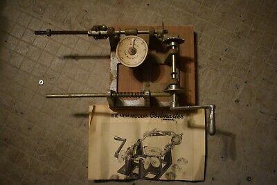 Vintage Moreco Morris Register Co. Coilmaster Coil Winding Machine