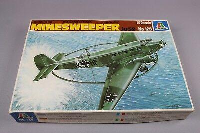 ZF439 Italeri 1/72 maquette avion planeur 126 MINESWEEPER ju52 dragueur mine