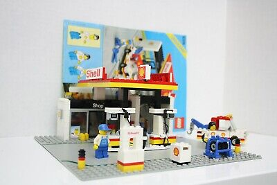 Vintage Lego Set 6378 Shell Service Station including Instructions
