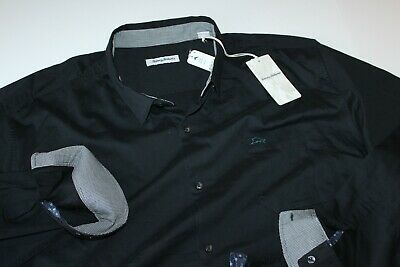 Tommy Bahama Shirt Oasis Twill BT323482 BlackLS New XXXX-Large Tall 4XLT Tommy Bahama Oasis