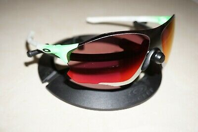 Oakley EVZero Path Sunglasses Green Fade Chrome Prizm Shield Cycling