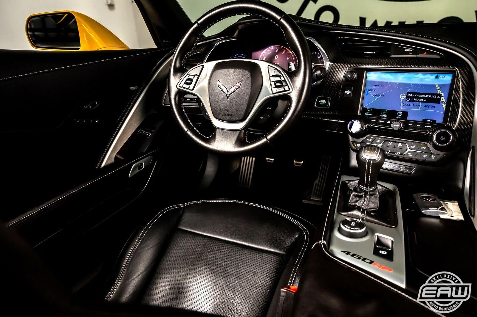 2014 Yellow Chevrolet Corvette Coupe 2LT   C7 Corvette Photo 7