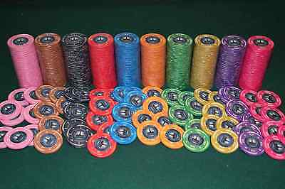 200 Ceramic Poker Chips keramik Pokerchips Poker Jetons