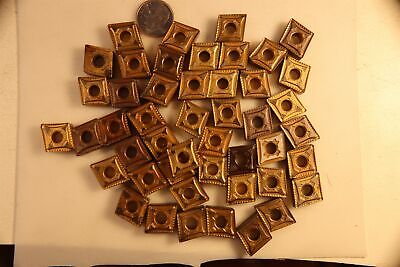 Lot Of 48 Diamond 12 Carbide Tip Turning Insert Cnmg431mn Kennametal