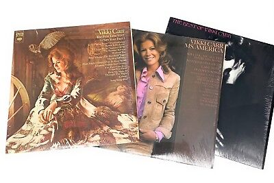 The Best of Vikki Carr, The First Time Ever, Ms. America, Vinyl LP