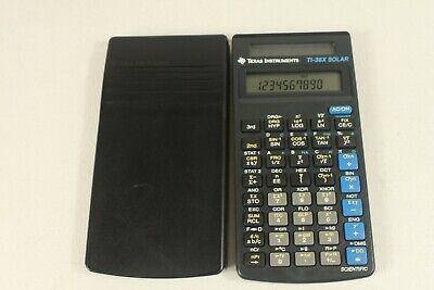TI-36 SOLAR, vintage scientific calculator. (ref C 020)