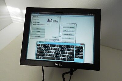 Dell E157fpte Touchscreen Posretail Lcd Monitor 15 Vga Usb Line In 4501 Xm180