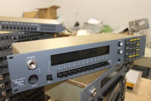 Clear-Com Matrix Plus ICS-2002 Display Keypad Rack Mountable Master Station
