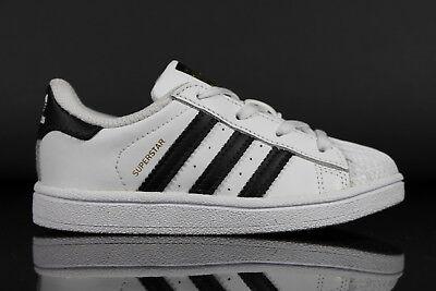 Neu Adidas Originals Superstar I B-Ware Baby Mädchen/Jungen Sportschuhe Schuhe