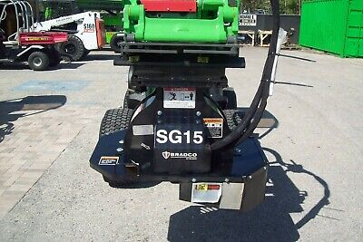 Bradco Sg15 Stump Grinder For Mini Loaderstorovermeer Sk Boxerditch Witch