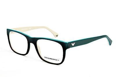 Emporio Armani Brillenfassung EA3056 5345 52mm eckig kunststoff grün 36A T18