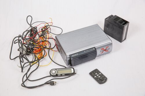 Sony Xplode CDX-565MXRF 10-disc changer w/ remote, cartridge and hookups