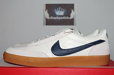 Nike x J. Crew Killshot 2 Leather Sail/Midnight Navy-Gum Yellow 432997-107 Men