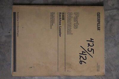 Cat Caterpillar 446b 446 B Backhoe Parts Manual Book List Sebp2193 Feb 1993