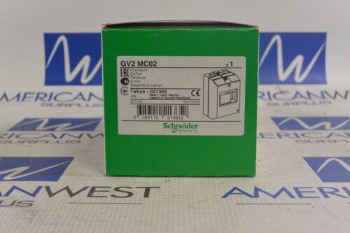 SCHNEIDER ELECTRIC GV2MC02 ENCLOSURE FOR MANUAL STARTER