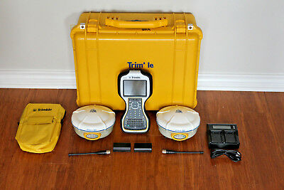 Trimble Dual R8 Model 2 Gps Gnss Glonass Rtk Survey Receiver Setup W Tsc3