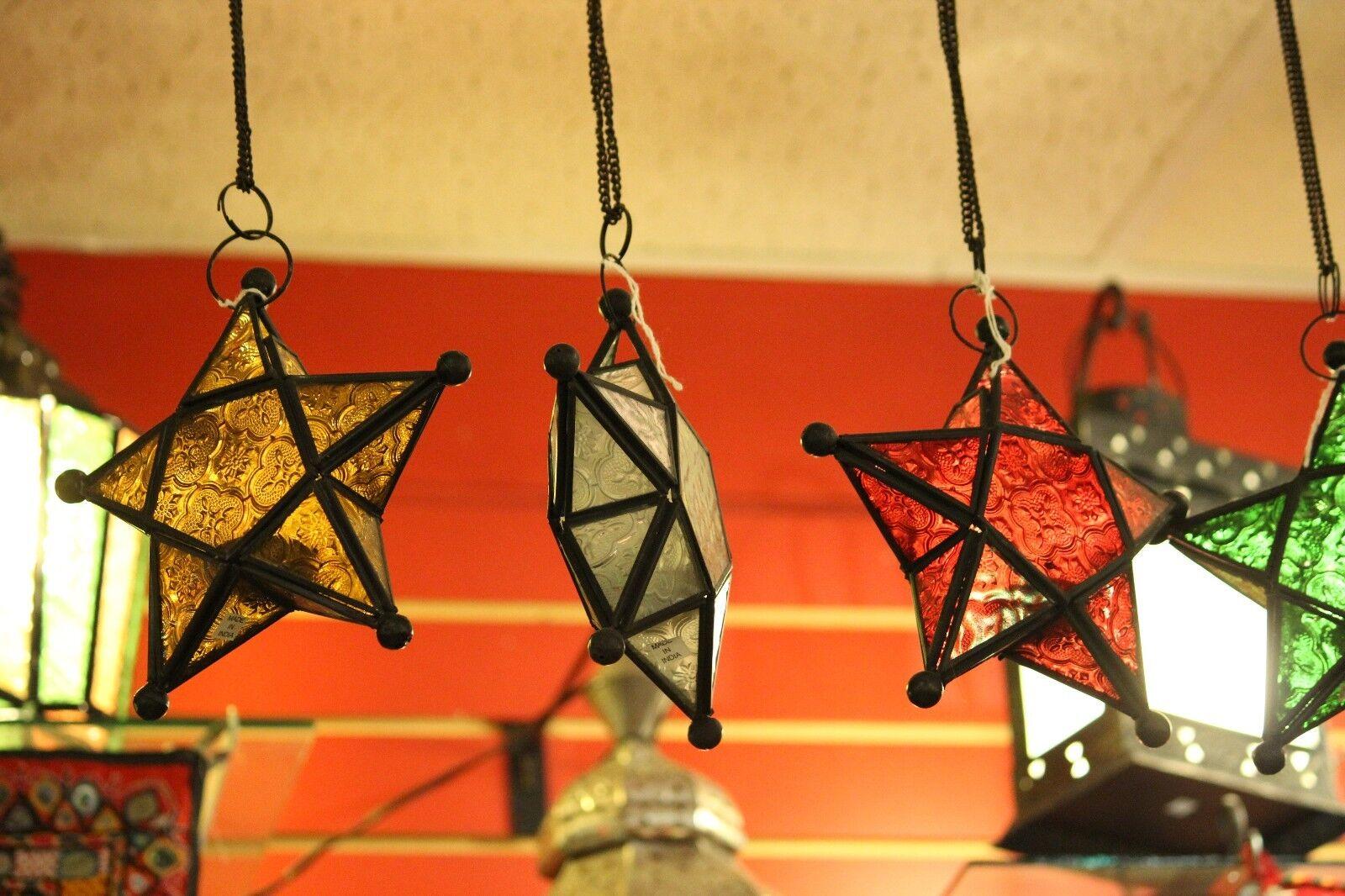 Moroccan Star Candleholder Indoor Patio Porch Decor Gift Lan