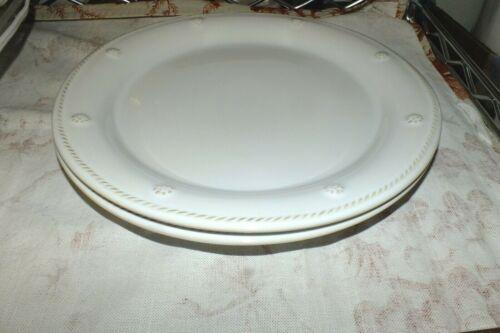 JULISKA BERRY AND THREAD WHITEWASH DINNER PLATE (S)   NEW