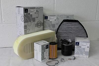 Genuine Mercedes-Benz W204 C-Class C200 220 250 Diesel OM651 Filter Service Kit