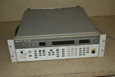Hp Agilent 8656b Synthesized Signal Generator 0.1 To 990 Mhz Gs2