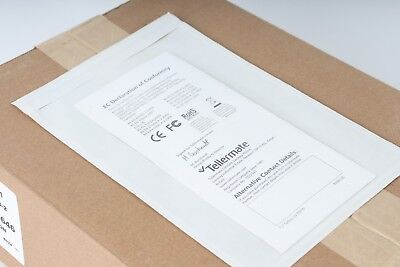 "Clear View Poly Mailers 6""x9"" Envelope Pouches Slip Plastic 100 pack Clear View Poly Mailers"