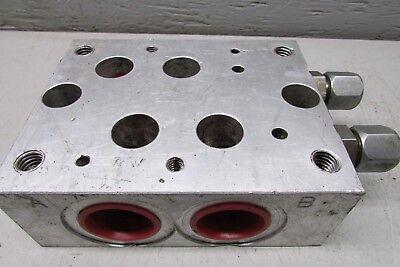 Daman Ad07sps012s Aluminum Valve Block
