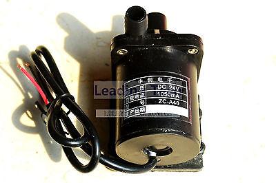 Zc-a40-24v Hot Water Pumps 24v Dc Mini Brushless Magnetic Pumps No Thread