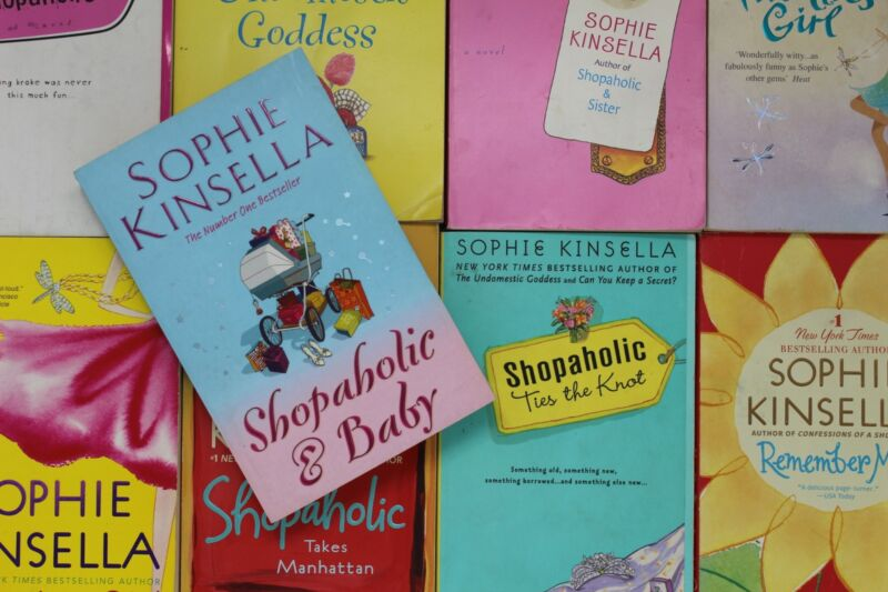 Lot of 5 Sophie Kinsella Romantic Comedy Paperback Books MIX