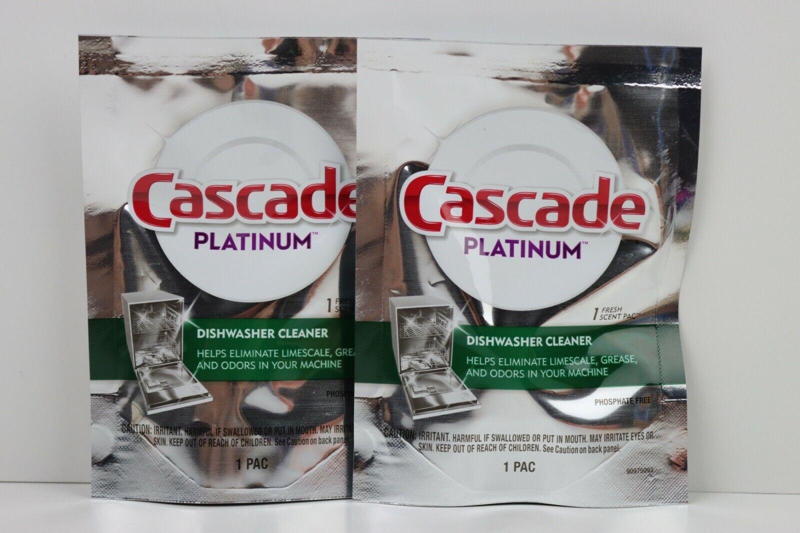 Cascade Platinum Dishwasher Cleaner 1- Fresh Scent Pac