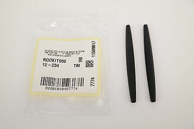 NEW AUTHENTIC Oakley A- T- E- C- SQUARE WIRE BLACK Earsocks Replacement GENUINE, used for sale  Shipping to United States