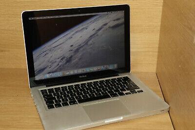 """Apple MacBook A1278 13.3"""" 2.0GHZ 4GB 9400M 250GB HDD OSX10.11.1 #14"""
