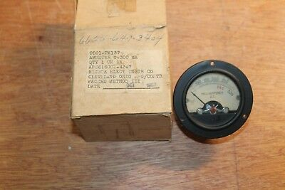 Antique Hickok Electrical Instrument Co. - Miliamperes A.c. Ammeter 570-121